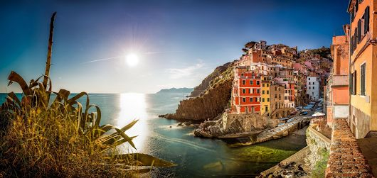 Visit Cinque Terre and walk the coastal trail.  One of the most spectacular seaside views in the world. Suggestions by Simon of patrignone.com