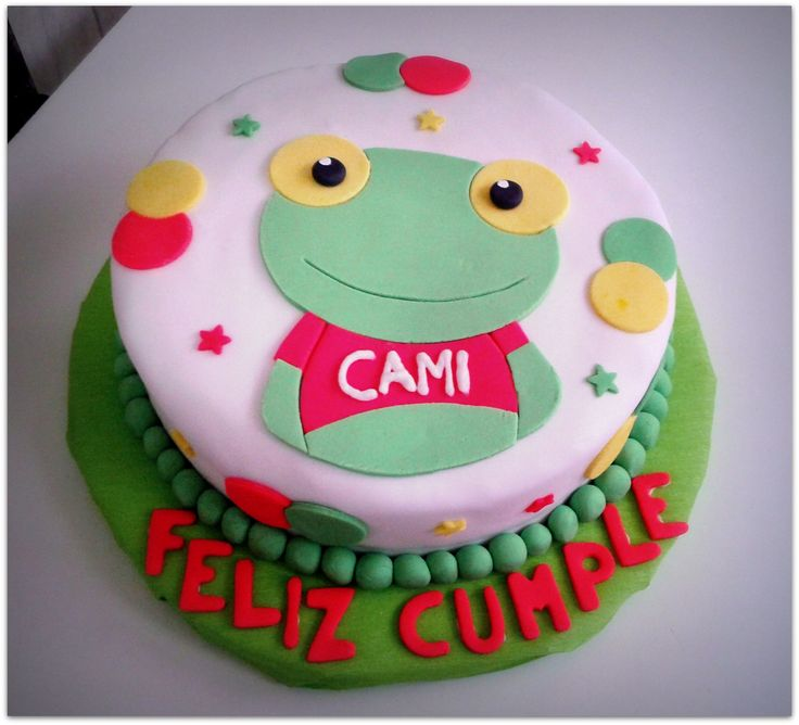 #Sapo #Pepe #Cake www.facebook.com/pages/Marina-Otero-Pastelería/157105107680289