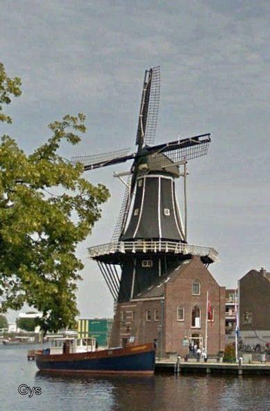 De Adriaan Mill, Haarlem, Netherlands