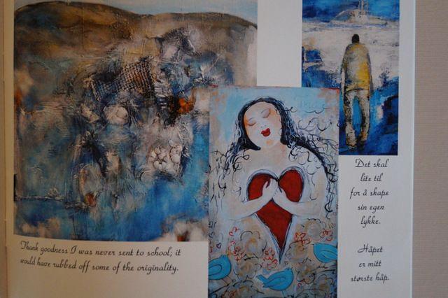Small art book
