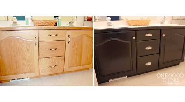 staining bathroom cabinets 17 best images about refinish furniture on 26580