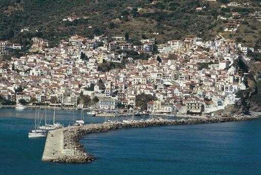 Χώρα Σκοπέλου (Town of Skopelos) στην πόλη Μαγνησία, Μαγνησία