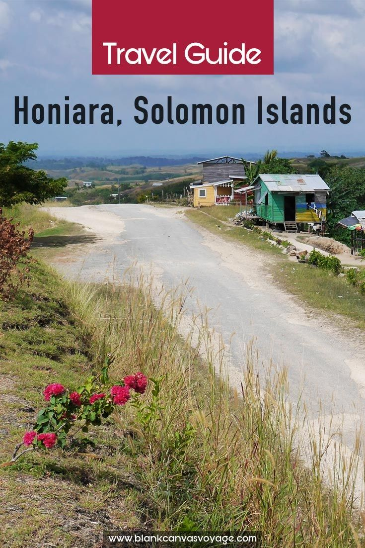 This Honiara travel guide will show you the things to do, see and what itinerary to follow to get the best of what Honiara has to offer. Read More: http://blankcanvasvoyage.com/solomon-islands/honiara-travel-guide/