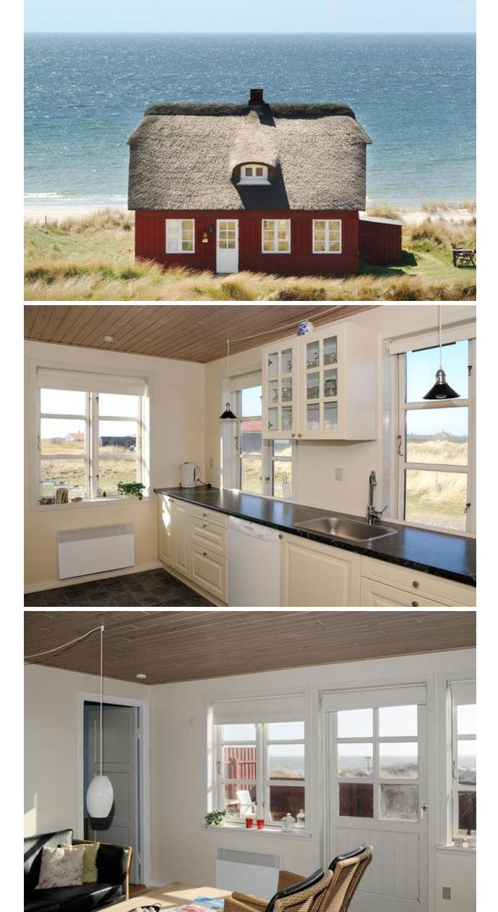 Amalie loves Denmark Ferienhaus in Blåvand #cottage #jytland #denmark #beach #seaview