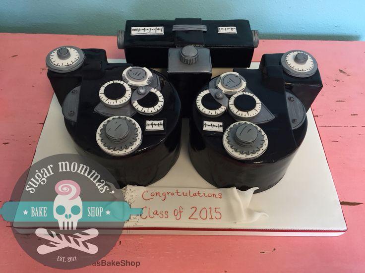 Optometry Cake Pops