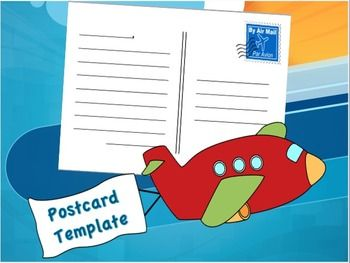 to Template Postcard Fun   Social bags Activities Extensions make editable and studies