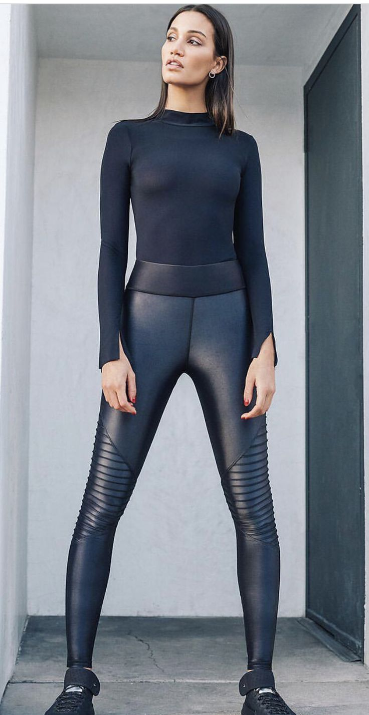 Shiny In 2019 Leather Tights Leggings Fashion Leather Legg