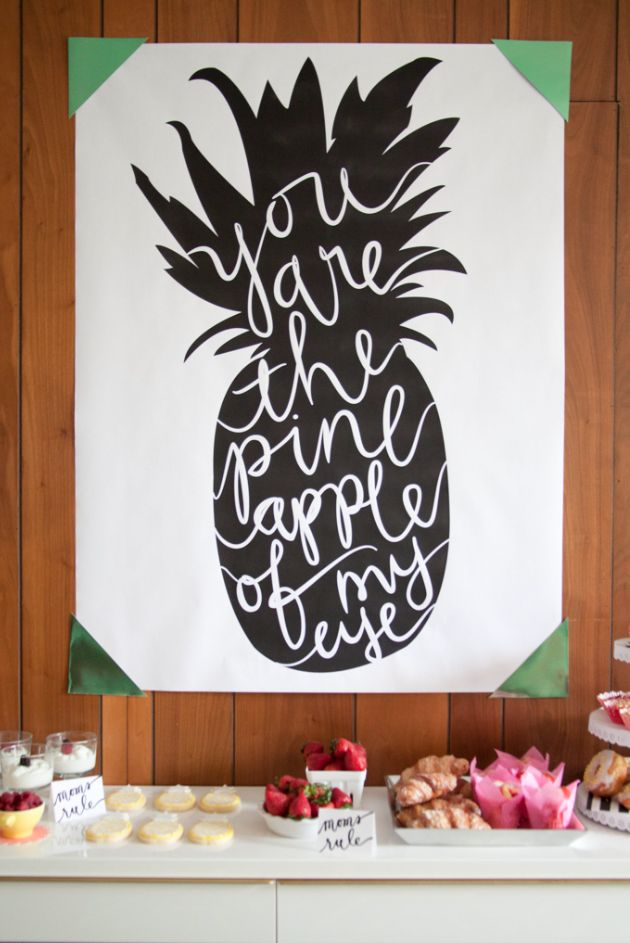 """You are the pineapple of my eye "" - The perfect wedding quote for Hawaiian nuptials. @fshualalaiwed"