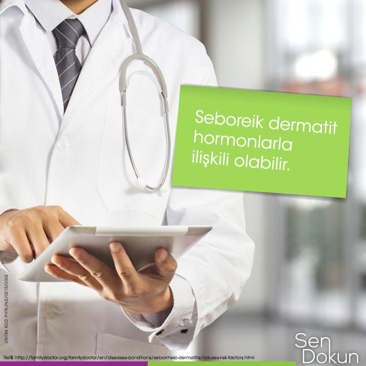Seboreik dermatit hormonlarla ilişkili görünmektedir; çünkü sorun bebeklikte ortaya çıkıp ergenlikten önce kaybolmaktadır.  ► http://pub.portalgrup.com/files/ailehekiminiziogrenin/index.html