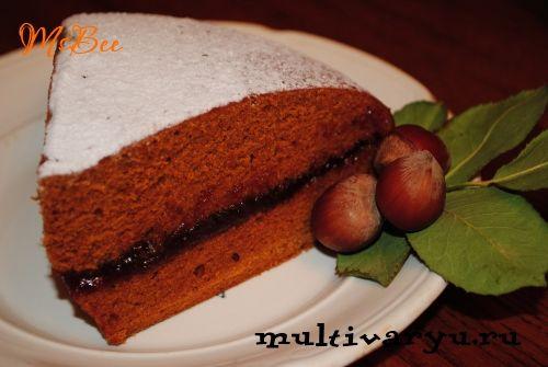 Коврижка постная «Монастырская» в мультиварке   Мультиварка - легко готовить, вкусно есть!