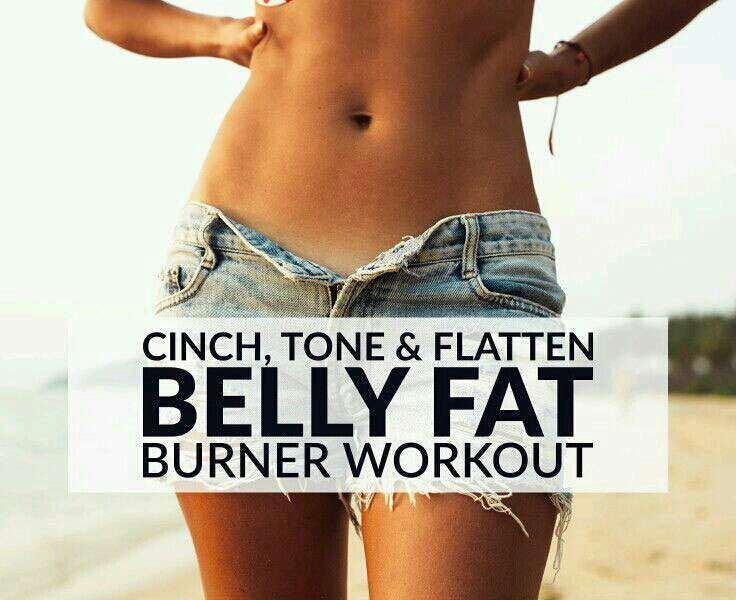 Cinch, Tone, and Flatten Belly Fat Workout