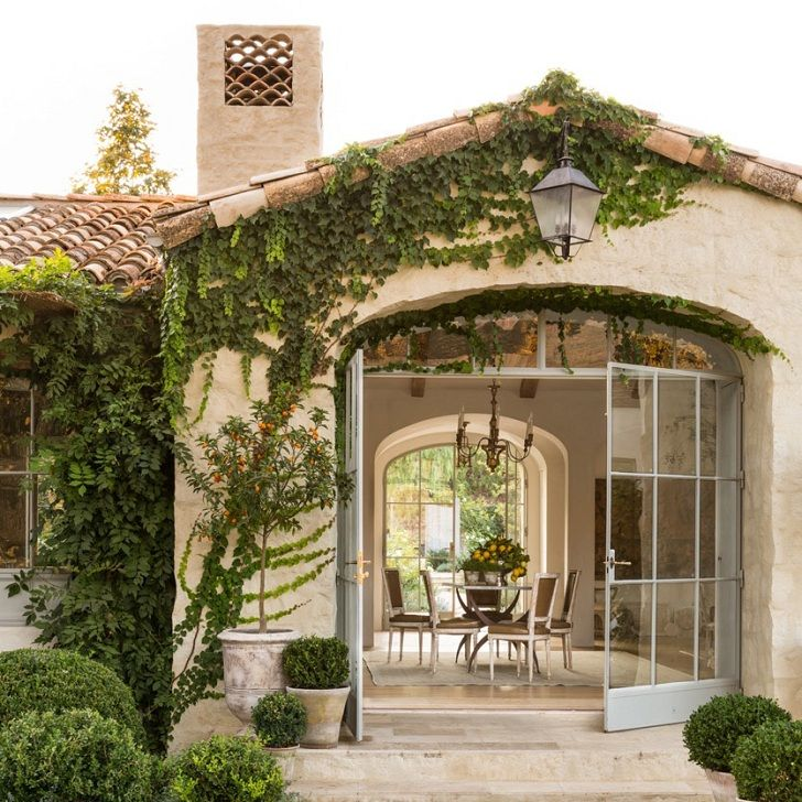 A Provencal style oasis in the countryside of Ojai, California