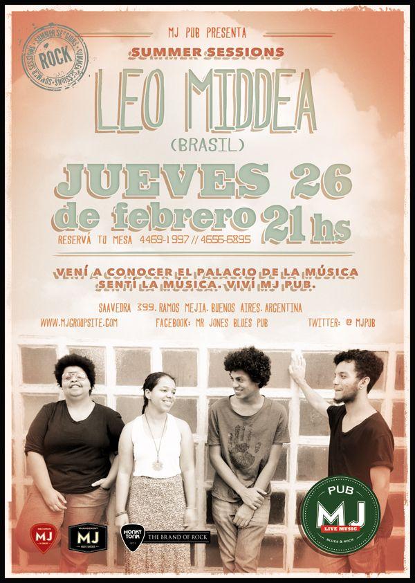 Leo Middea (Brasil). Rock