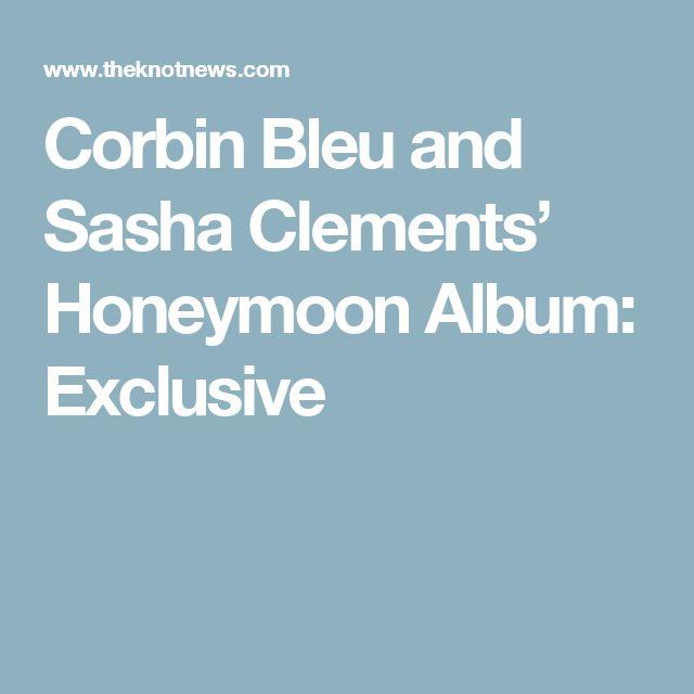 Corbin Bleu and Sasha Clements' Honeymoon Album: Exclusive