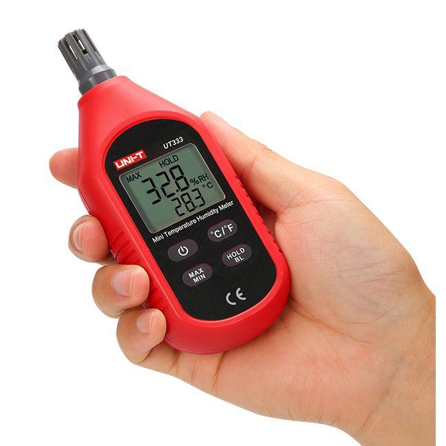 UNI-T UT333 Mini LCD Digital Thermometer Hygrometer Air Temperature and Humidity Meter Moisture Mete