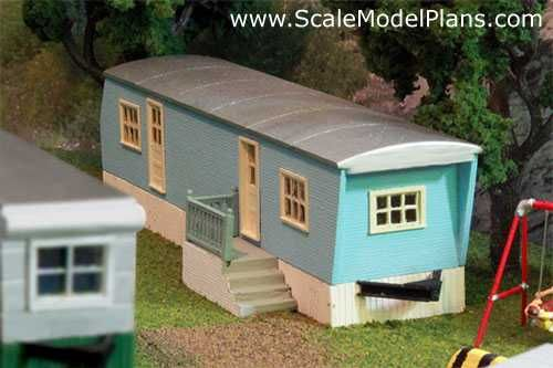 o scale building template | The HO scale model uses Northeastern Scale Lumber Co.'s 1/32 ...