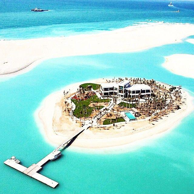 Michael Schumacher's Private Island In Dubai. #dreamhome