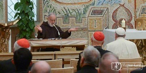 A béke a lélek gyümölcse – Cantalamessa harmadik adventi elmélkedése | Magyar Kurír - katolikus hírportál