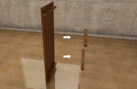 すのこテレビ台の作り方/インテリアDIY