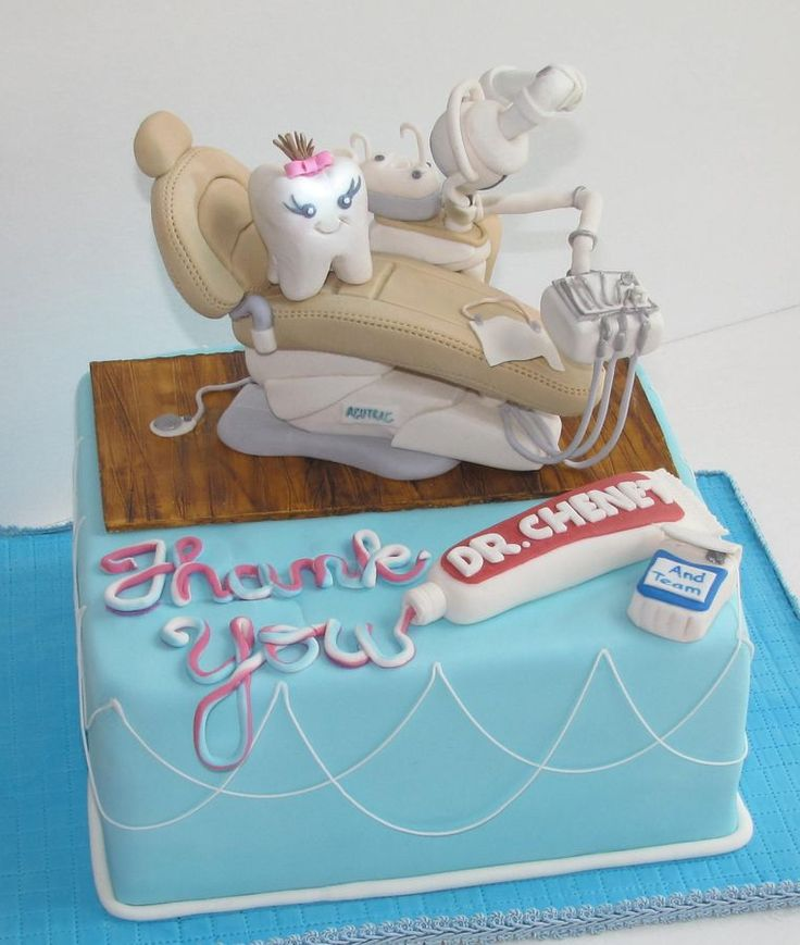 Dentist chair with working light! — Misc 3D Cakes
