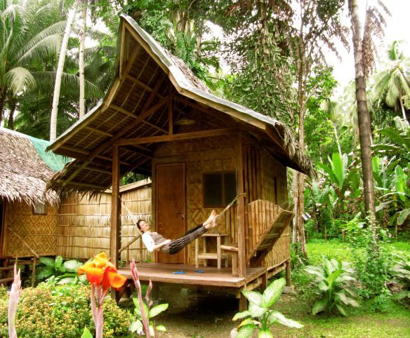 Pin By Richard Daniels On Nipa Hut Hut House Bamboo