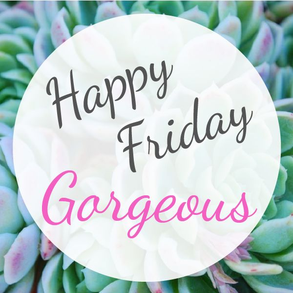 #hellogorgeous #hello #gorgeous #succulent #bloom #pink #green #friday #cheerful
