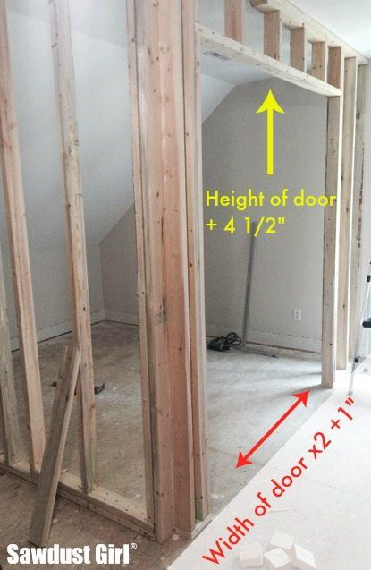 How To Install A Pocket Door Frame Instructions Doors Installation