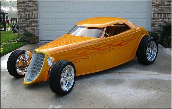 1932 & 1933 Ford Roadster Coupe Phaeton SpeedStar Hot Rods Austins Hot Rod Shop Orlando Florida Bobby Alloway Rat's Glass