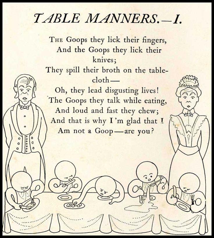 alaska table manners