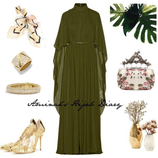 Hijab Fashion 2016/2017: Sélection de looks tendances spécial voilées Look Descreption Aminah´s Hijab Diary #hijab #hijabfashion #modest #fashion #style #l
