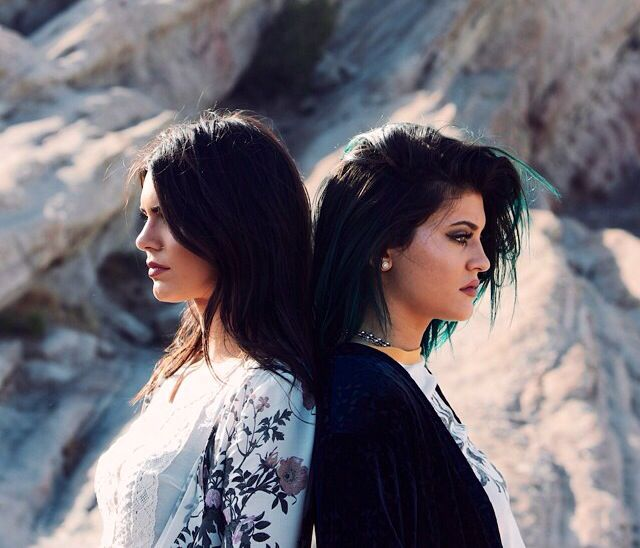 Kendall and Kylir Jenner