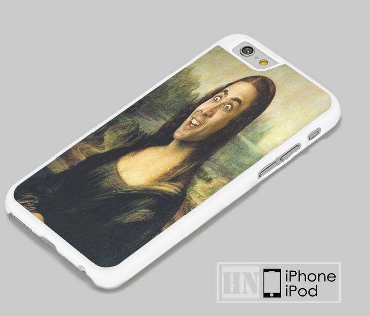 Nicolas Cage Monalisa Samsung, iPhone, HTC One, LG Case