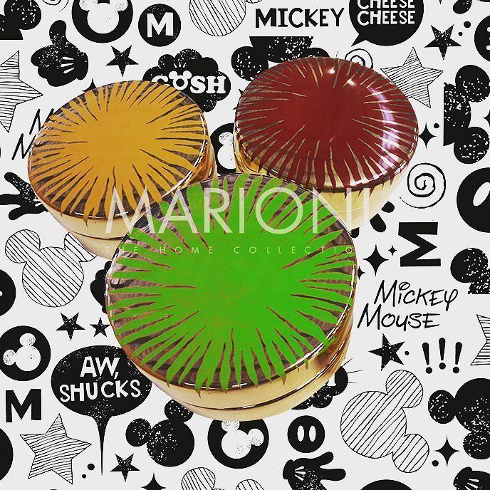 """Happy Bithday #mickeymouse!!!  Oggi @disneystudios proiettó """"Steamboat willie"""" il primo cartone animato con #topolino.  Fate anche voi i vostri auguri!!  #marionisrl #happybirthday  #accaddeoggi #waltdisney  #disney #ceramics #ceramic  #ceramica #littleboxes #box"""