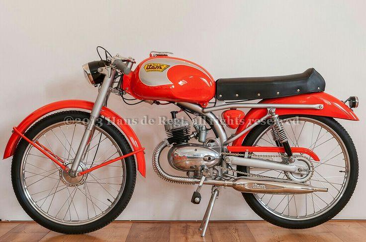 ITOM competizione. A perfectly preserved Italian Café racer.