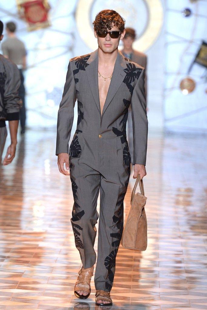 Versace Men's RTW Spring 2015 - Slideshow