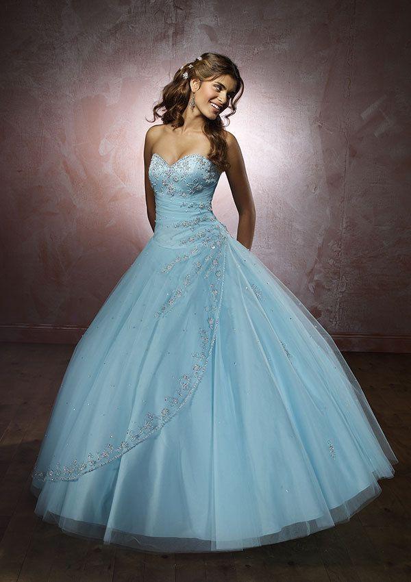 She would look like Cinderella!  LOVE IT!