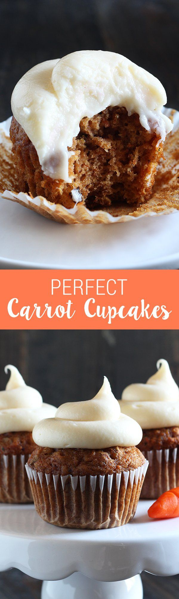How To Make Perfect Carrot Cupcakes That Are So Flavorful, Moist, And  Delightful That
