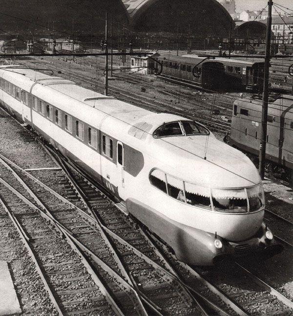 Ansaldo Breda - Settebello ETR 300 - Giulio Minoletti, 1950