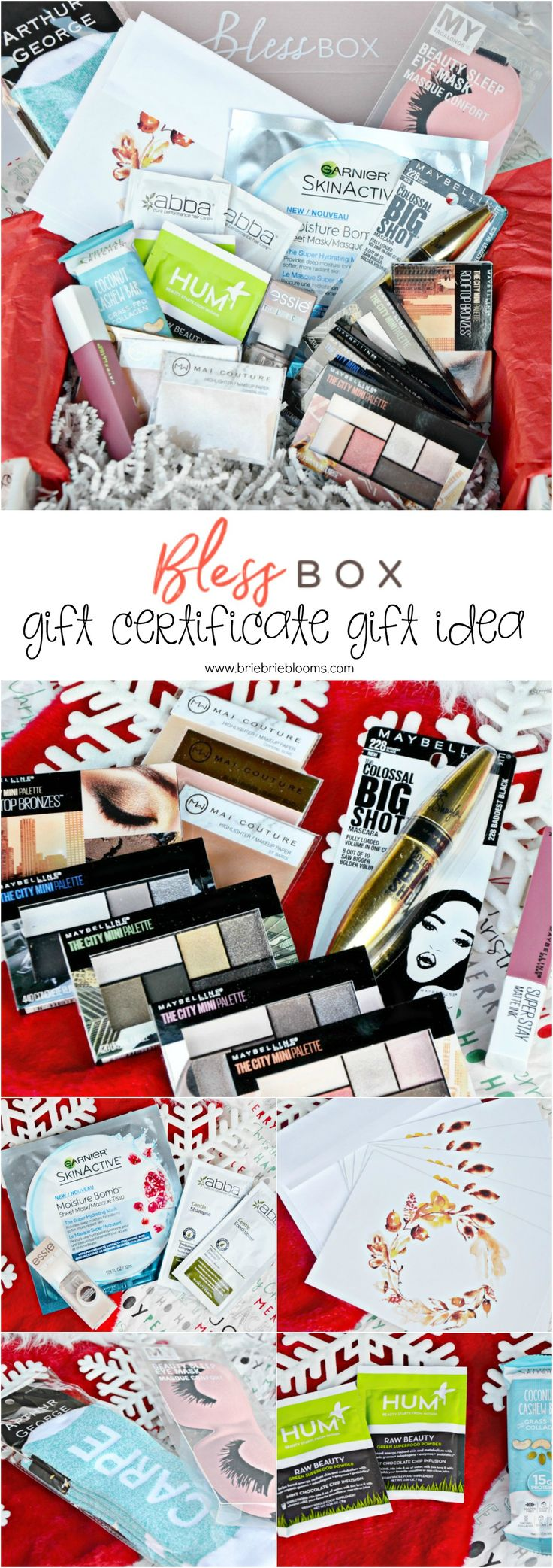 Best 25 free printable gift certificates ideas on pinterest the bless box ultimate subscription is the best gift idea for friends that love affordable beauty products gift with a free printable gift certificate xflitez Images