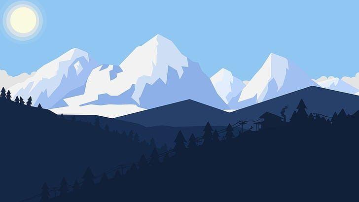 31 Minimalist Simple Winter Desktop Wallpaper Minimalist 1080p 2k 4k 5k Hd Wallpapers Free Download So Landscape Wallpaper 8k Wallpaper Minimalist Wallpaper