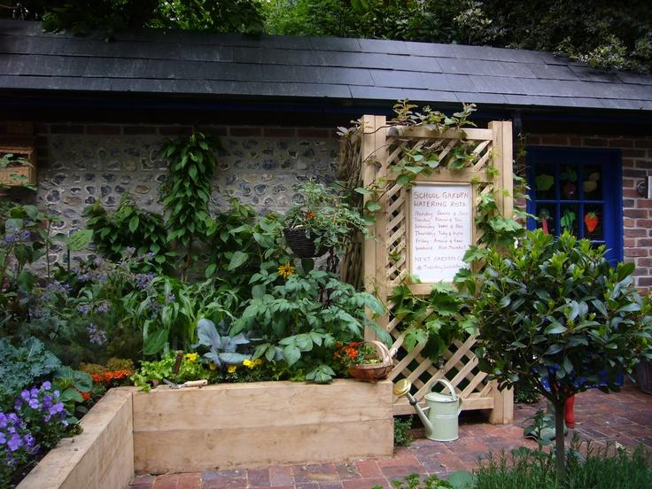 School Garden Ideas saxon hill school wildlife area sensory garden Find This Pin And More On School Diy School Garden Ideas