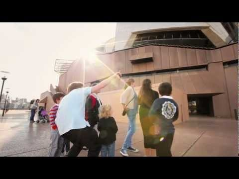 Syd opera house  Kids tour