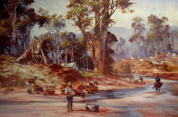 Goldfield on the Diggings by D'Arcy Doyle