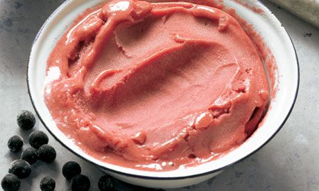 Hugh Fearnley Whittingstall's crab apple and sloe sorbet recipe: 'Crab apples should be grabbed whenever you can.' Photograph: Colin Campbell for the Guardian