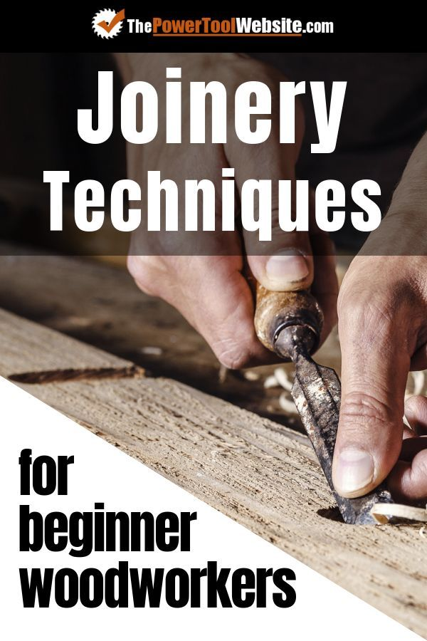 Basic Woodworking Joinery Techniques