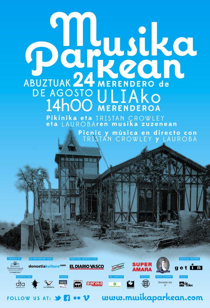 Musika Parkean XX - 24.08.2013, Parque de Ulia-ko parkea