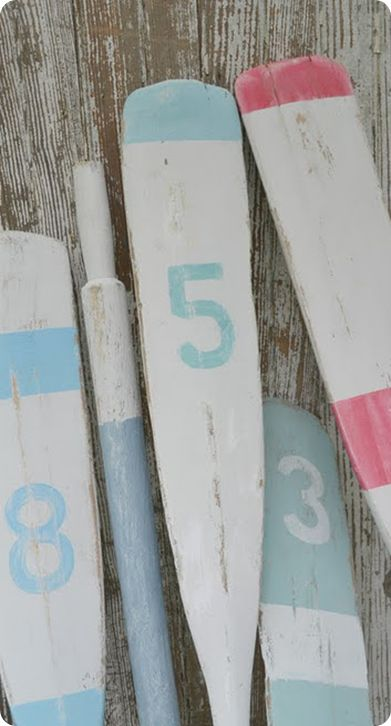 1000 Images About Decorative Oars On Pinterest Pottery