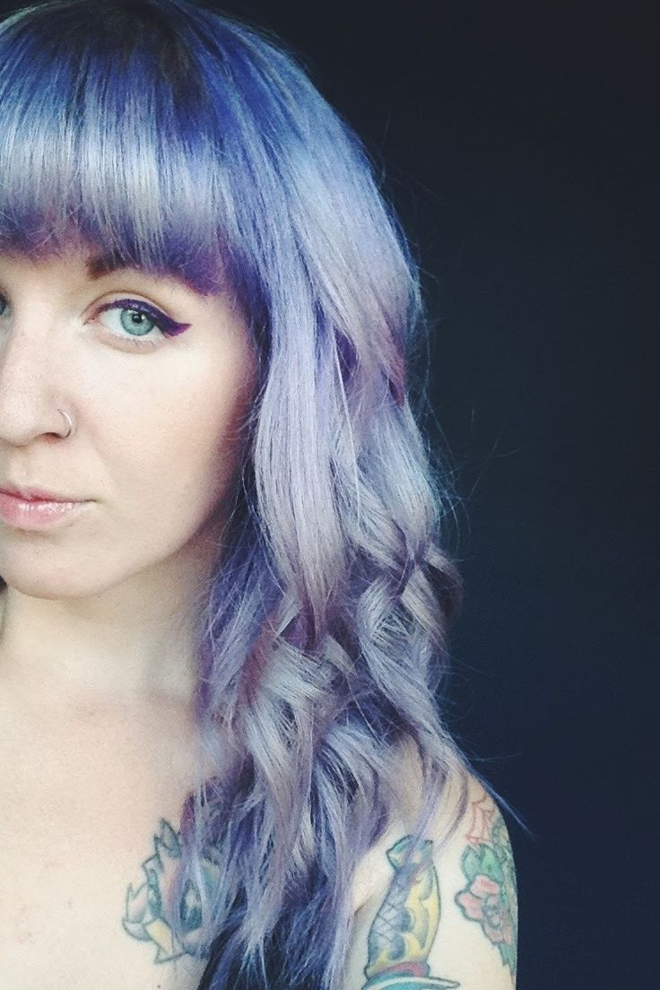 Review // Ion Color Brilliance Brights Hair Color: Titanium and Purple