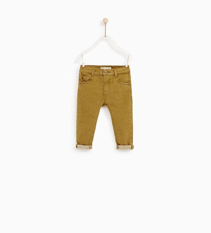Jeans cor (ocre): ZARA KIDS 3-4 (12,95€)
