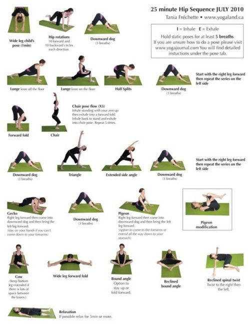 Yoga - for tight hips